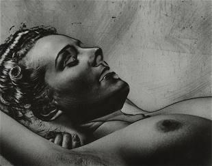 WYNN BULLOCK - Solarized Nude, 1939