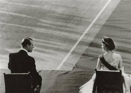 CORNELL CAPA - Queen Elizabeth, Prince Philip, USA