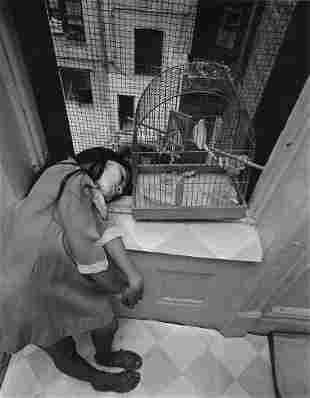 BRUCE DAVIDSON - Girl With Birdcage