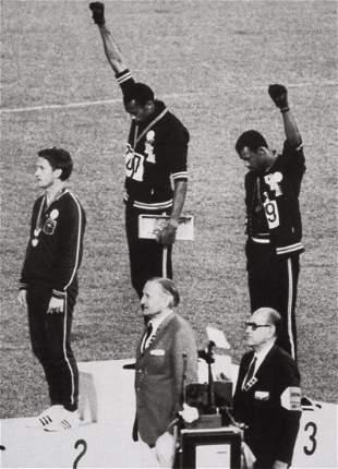 "JOHN DOMINIS - ""Black Power"" Salute - Olympics, 1968"