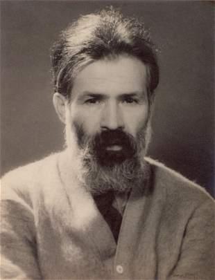 MAN RAY - Constantin Brancusi, 1930