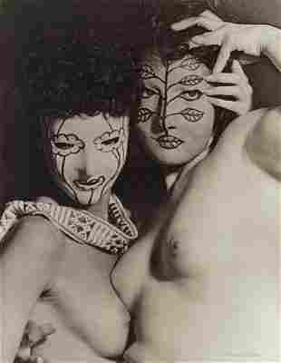 MAN RAY - Juliet and Margaret Nieman, 1947