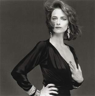 BETTINA RHEIMS - Charlotte Rampling, Paris, 1985