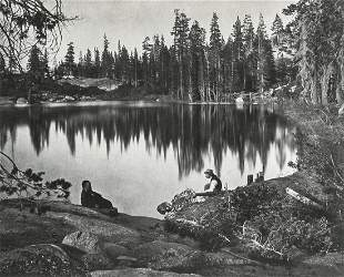 CHARLES ROSCOE SAVAGE - Lake Angeline, 1860s