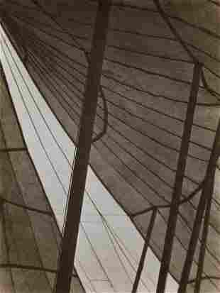 EDWARD WESTON - Circus Tent, Mexico, 1923