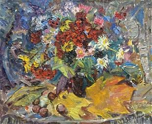 Oil painting Still life Dovgalevskaya Vera Veniaminovna