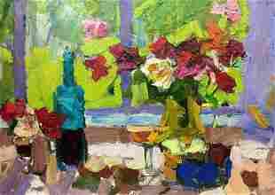 Oil painting Still life Schwab Vladimir