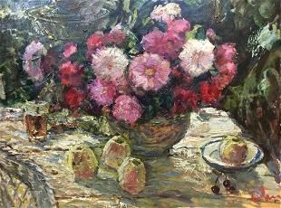 Oil painting Still life Zvyagintsev Rostislav