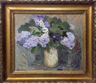 Oil painting Still life Vyazovsky Lev Vsevolodovich