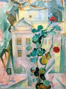 Oil painting Good morning Yuri Ivanovich Kiyansky