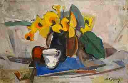 Oil painting Still life Kuprin A. V.