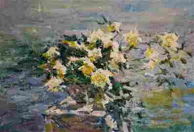 Oil painting Still life Godun Nikolay Petrovich