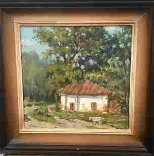 Oil painting Summer Pivtorak Sergey
