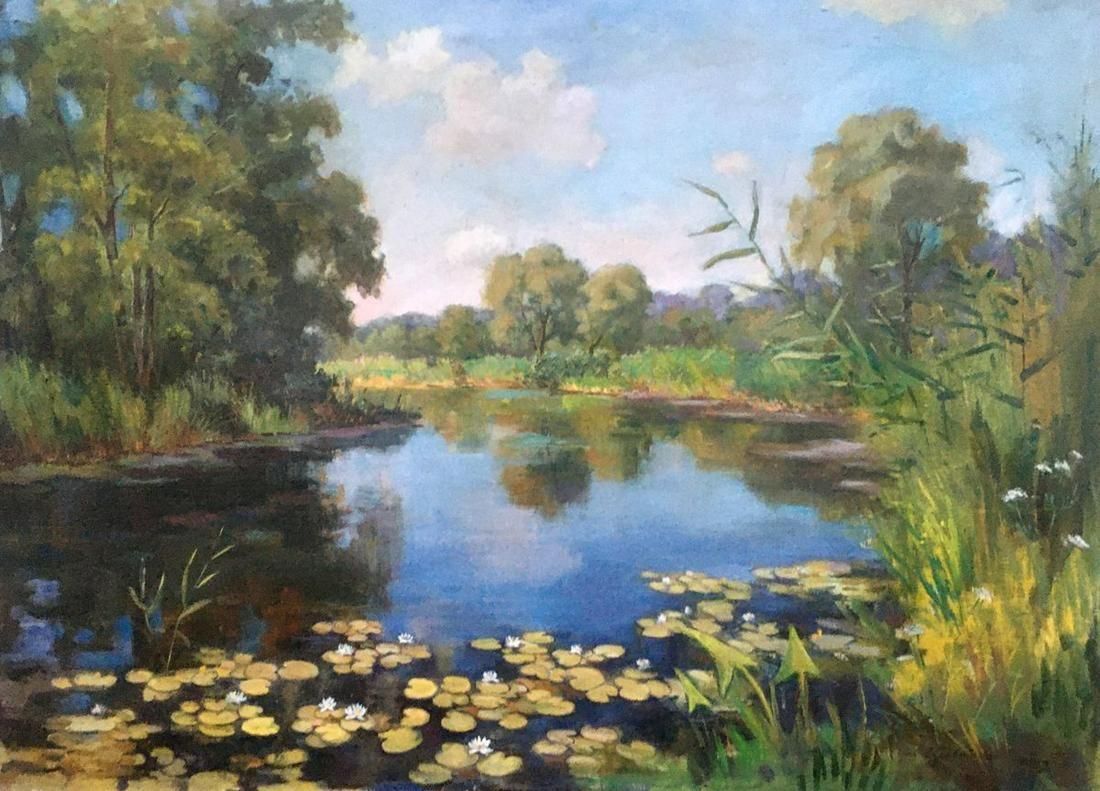 Oil painting Morning on Suli Pivtorak Sergey