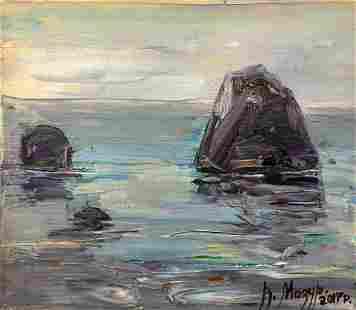 Oil painting Sea Mazur Vladimir
