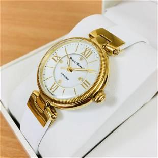 Serene Marceau Diamond Gold Plated Watch