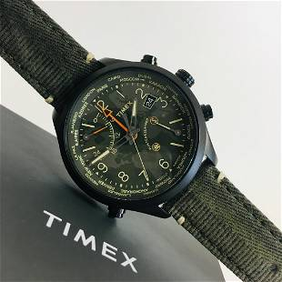 TIMEX Waterbury GMT Worldtimer Watch