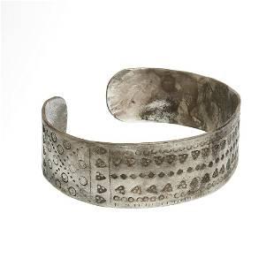 Viking Solid Silver Bracelet