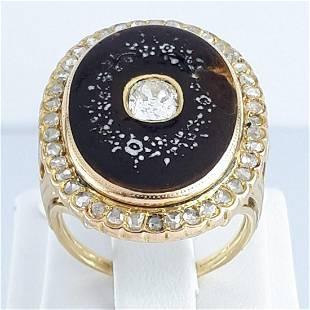 18K Yellow Gold - Ring