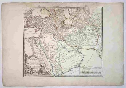 Etats Du Grand-Seigneur En Asie, Empire De Perse, Pays