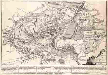 Plan Der Battaille Bey Prag, Den 6 Ten May. 1757.