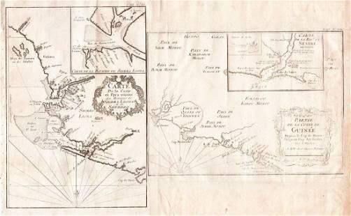 Bellin/Prevost: Sierra Leone & Liberia Coastal Charts
