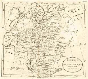 Russia Or Muscovy in Europe from the Latest