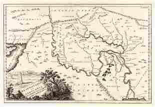 Mesopotamia Et Babylonia Fluminibus Secundum Veterem