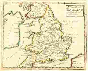 New Map of England from the Latest Observations.