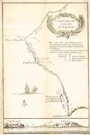 Carte Exacte De La Cote Du Cap Verd