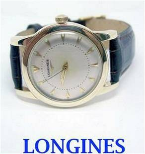 Solid & Heavy 14k LONGINES Automatic Watch 1960s