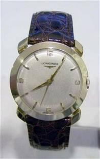 Solid 14k LONGINES Winding Watch c.1950s Cal.22LS*