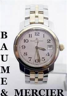 Mens BAUME & MERCIER 18K & S/Steel Watch MVO45215 in