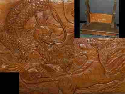 Real beautiful handmade Japanese samurai sword rack