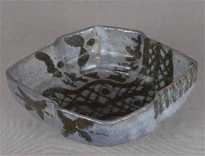 1910s Japanese ceramic tea ceremony KASHIKI nezumi