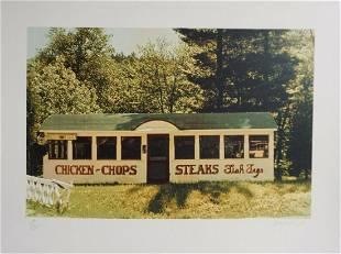 John Baeder - Chicken Chops
