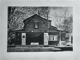 John Baeder - House With Trailer
