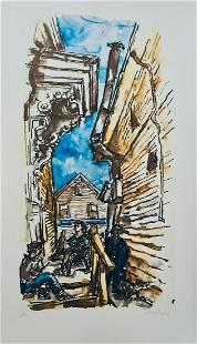 Chiam Gross - New England Street Scene
