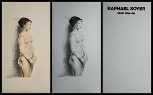 Raphael Soyer - Nude Woman Portfolio Suite of 2