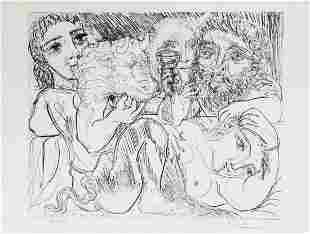 Minotaur, Drinking Sculpture & 3 Models (Vollard Suite)