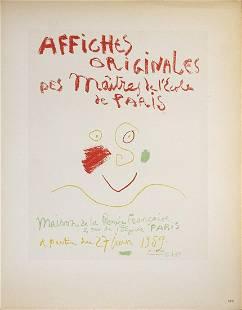 Pablo Picasso - Affiches Originales - 1959 Lithograph