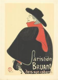 Henri de Toulouse-Lautrec - Aristide Bruant dans son