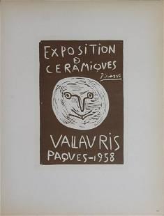 Pablo Picasso - Ceramiques Paques - 1959 Lithograph