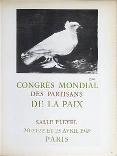 Pablo Picasso - Congres Mondial des Partisans de la