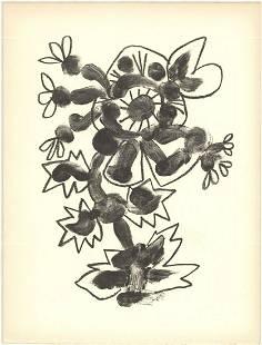 Pablo Picasso - De Memoire D'Homme II - 1950 Lithograph