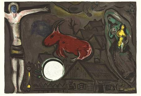 Marc Chagall - Derriere le Miroir, no. 27-28 - 1950