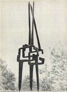 Eduardo Chillida - Eloge de L'air, no. 23 - 1956 Offset