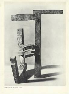 Eduardo Chillida - Eloge du Fer, no. 25 - 1956 Offset