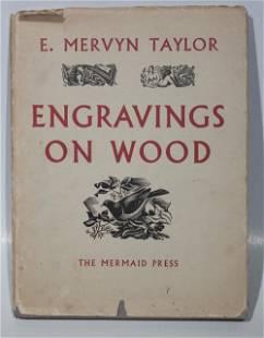 """Engravings on Wood - 1957 Book 11.5"""" x 8.75"""""""