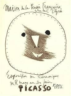 Pablo Picasso - Exposition de Ceramiques - 1958